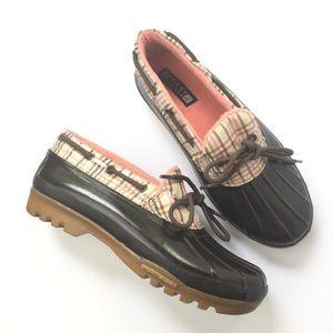 Sperry Top-Sider 8 Boots Brown Low Waterproof